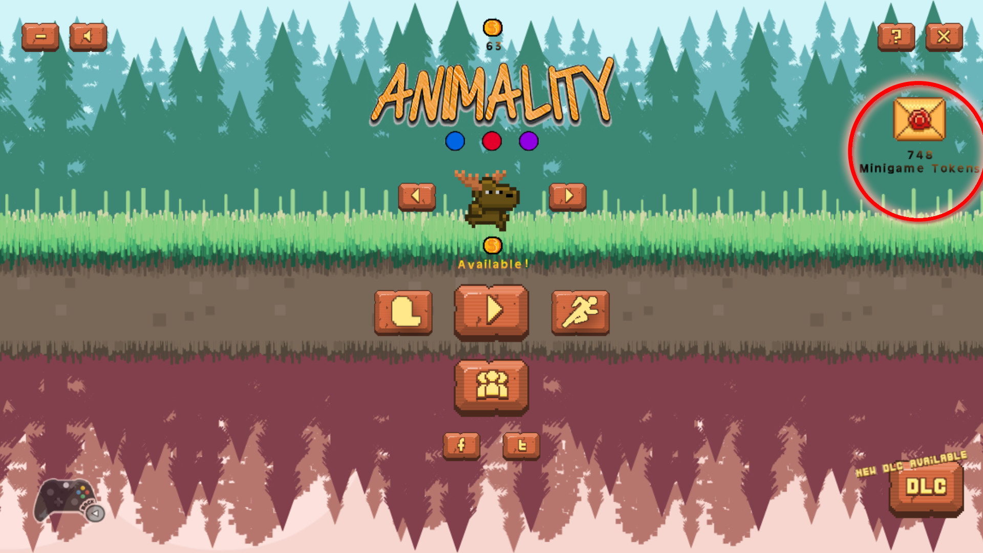 ANIMALITY - 250 Minigame Tokens screenshot