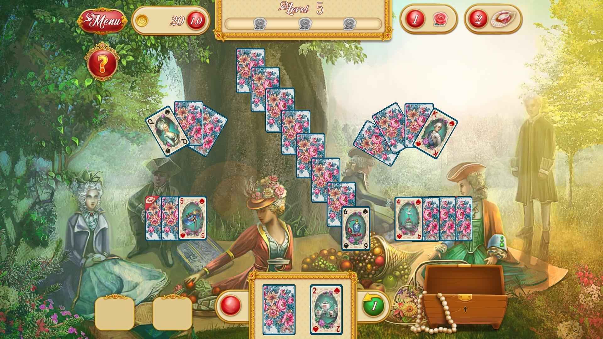 Marie Antoinette's Solitaire screenshot