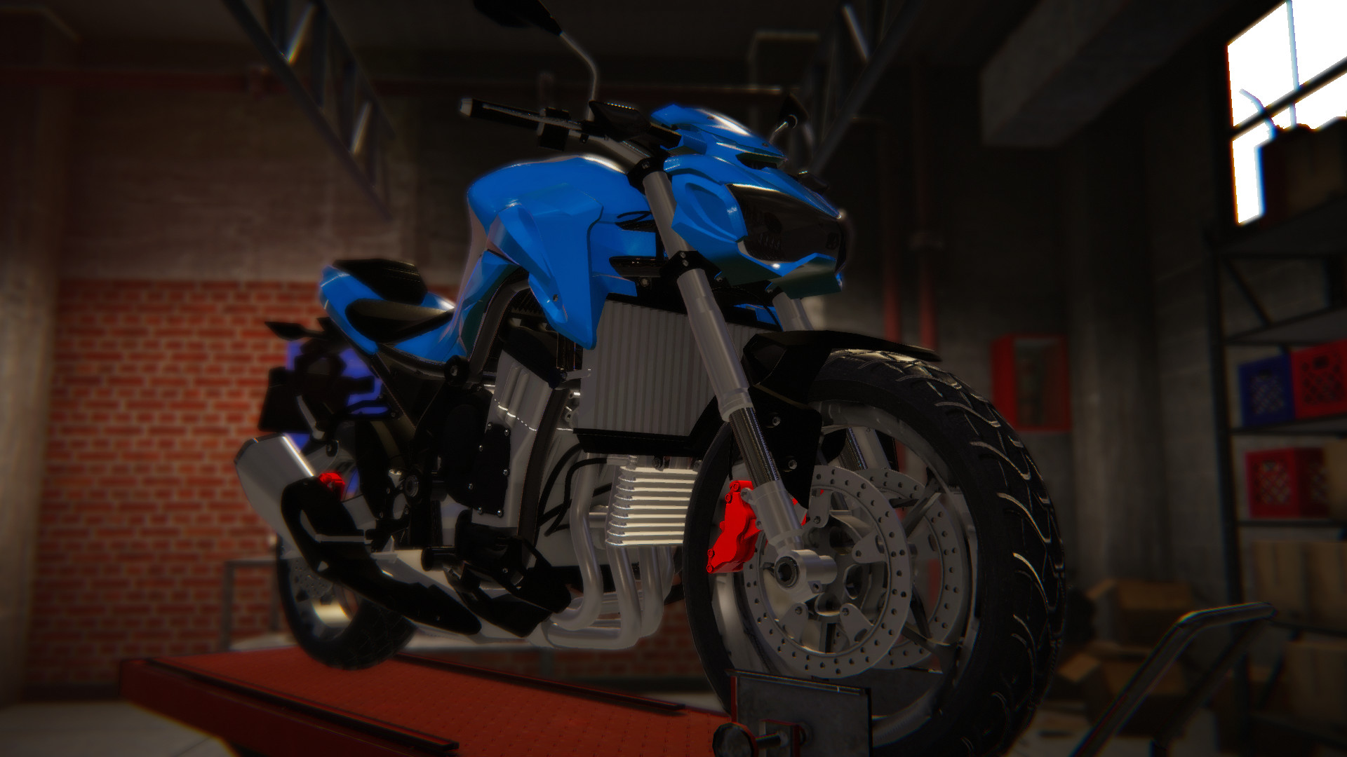 Biker Garage - Sport Z9 screenshot