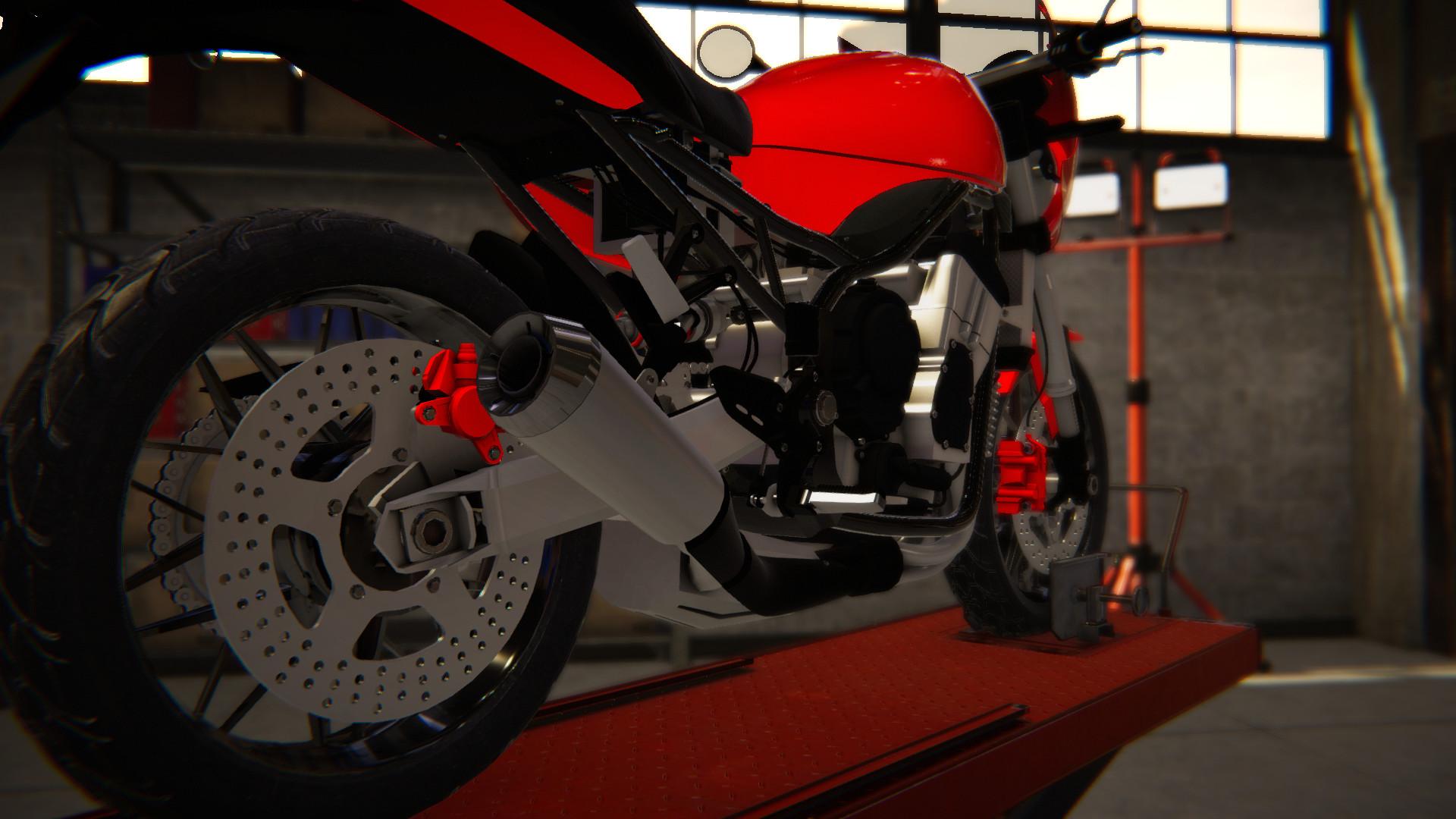 Biker Garage - Sport CR9 screenshot