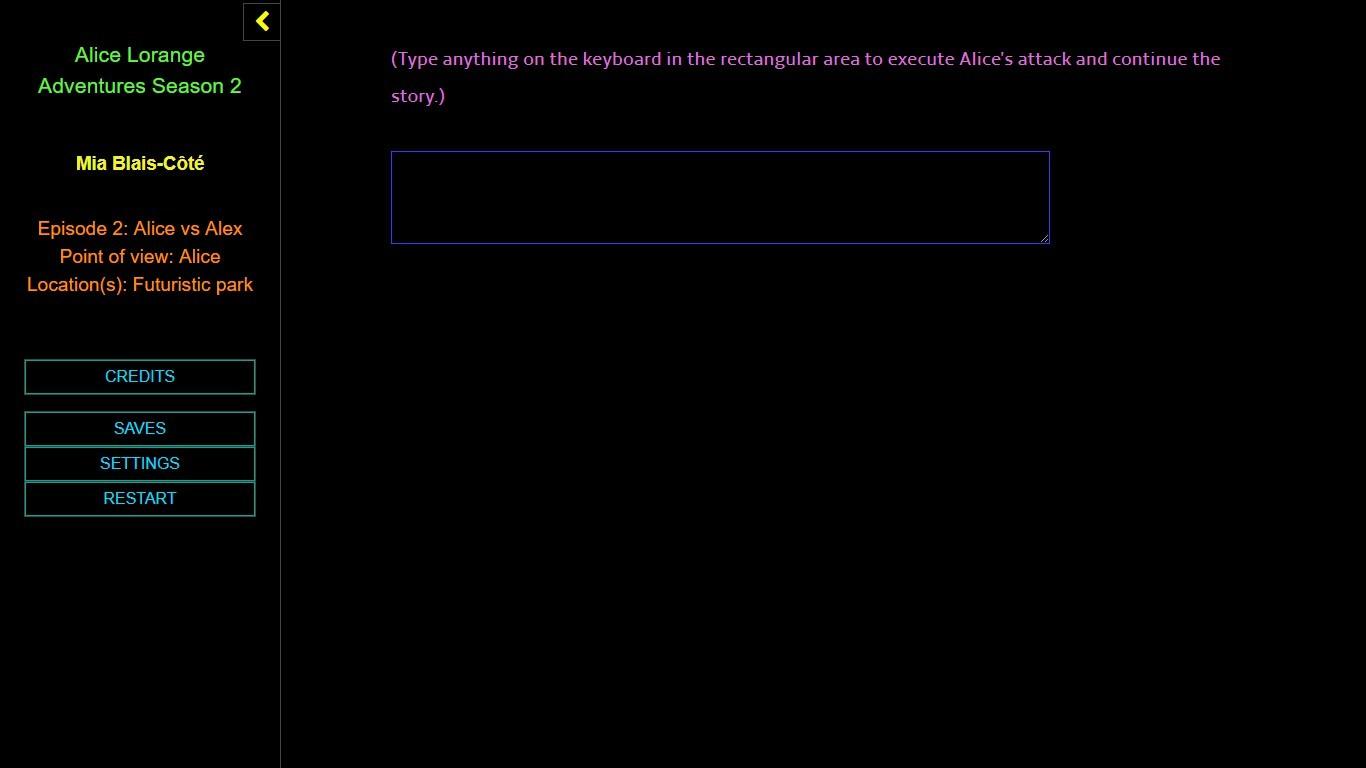 Alice Lorange Adventures Season 2 screenshot