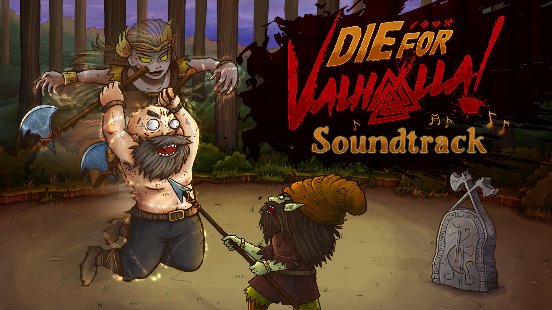 Die for Valhalla! Soundtrack screenshot