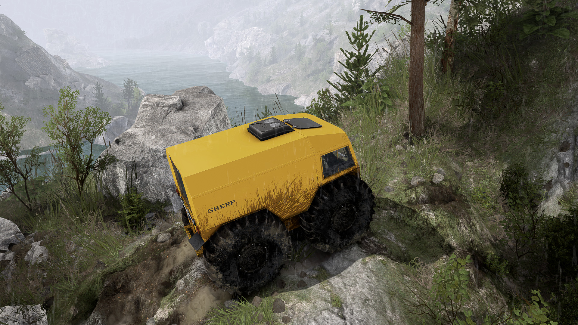 Spintires - SHERP Ural Challenge DLC screenshot