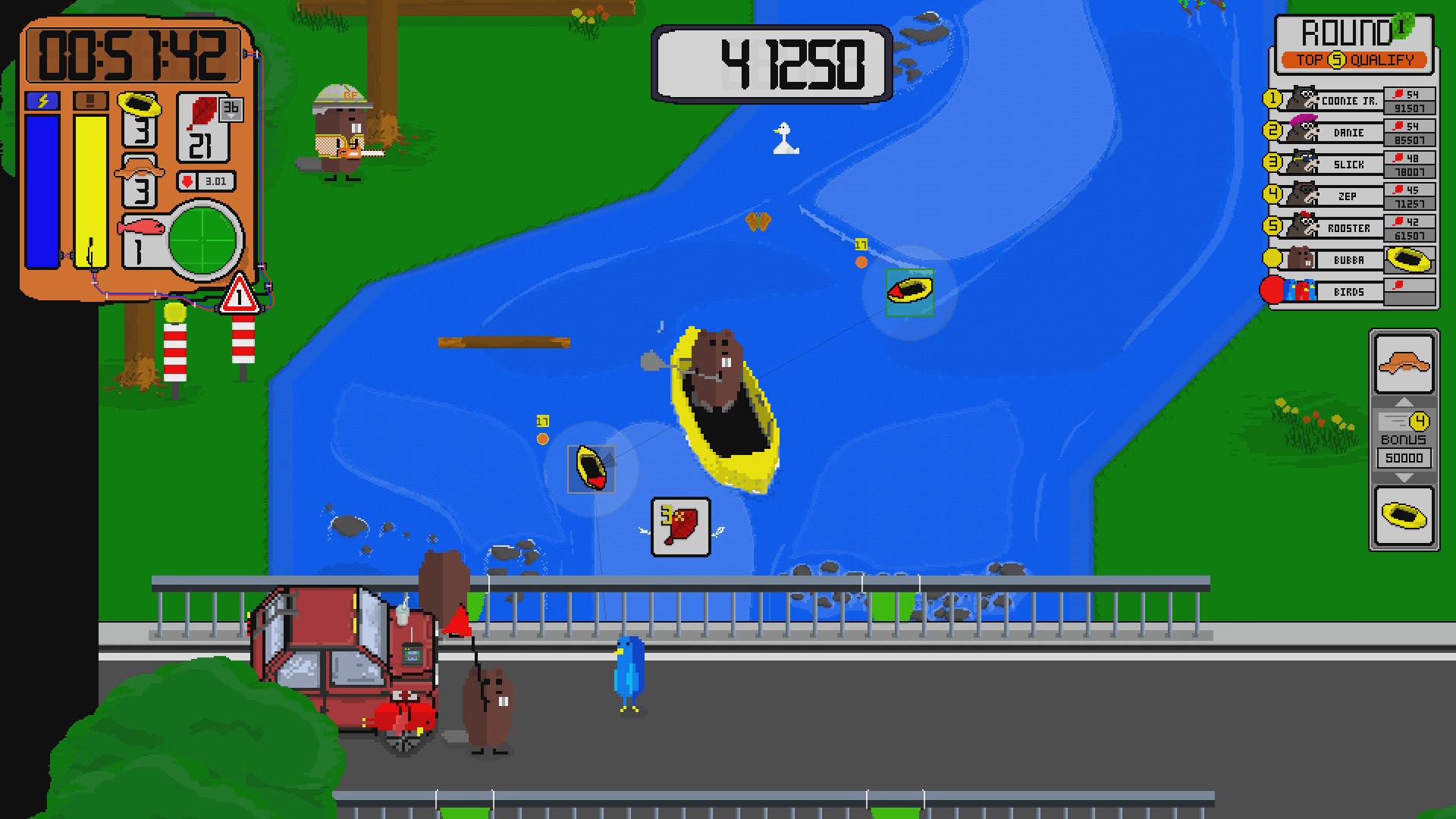 Beaver Fun River Run - Steam Edition screenshot