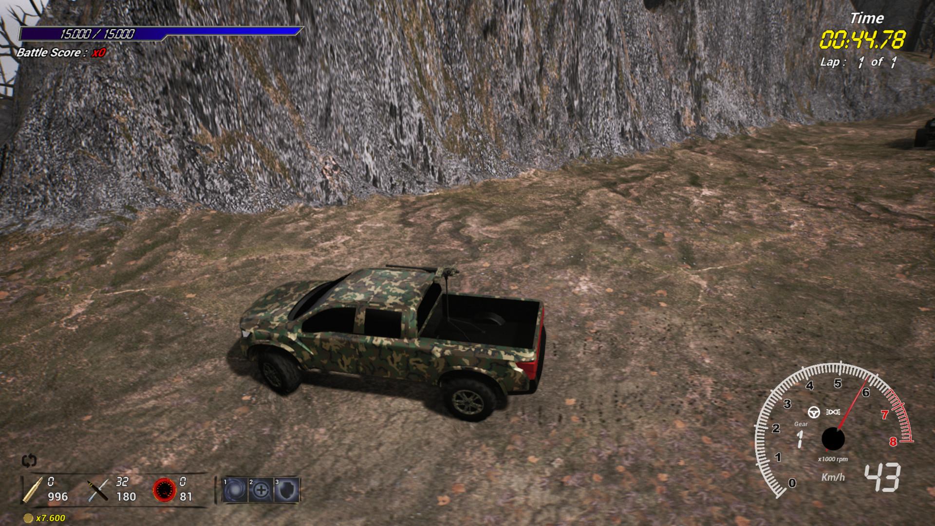 Enga Extreme Battle Race screenshot