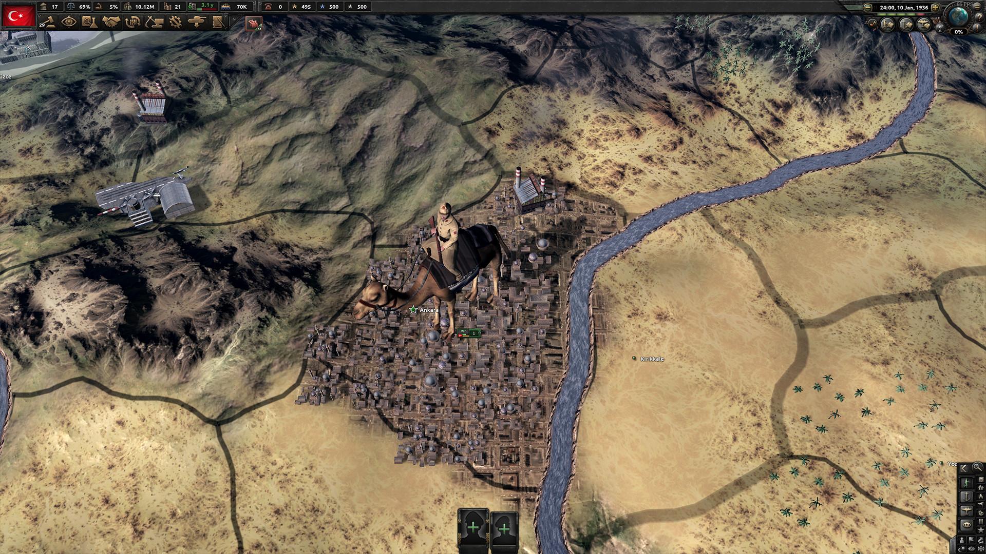 Hearts of Iron IV: Battle for the Bosporus screenshot