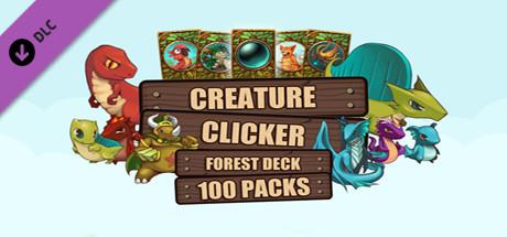 Creature Clicker - 100 Forest Deck Card Packs