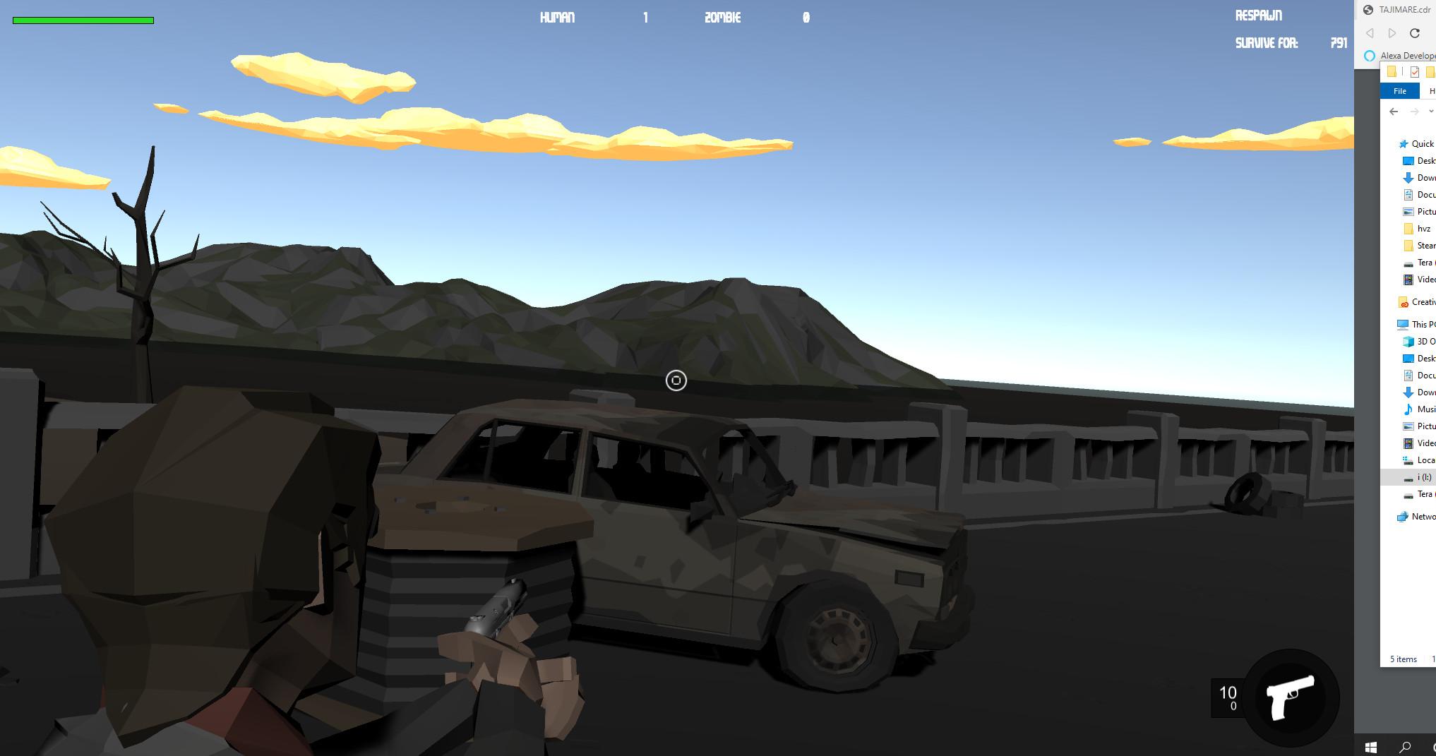 Humans V Zombies screenshot