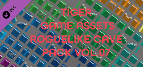 TIGER GAME ASSETS ROGUELIKE CAVE PACK VOL.07