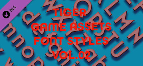 TIGER GAME ASSETS FONT STYLES VOL.02