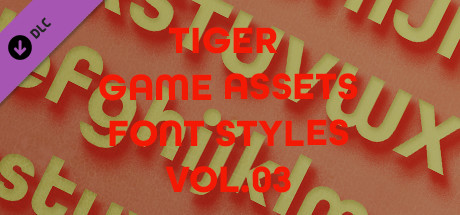 TIGER GAME ASSETS FONT STYLES VOL.03