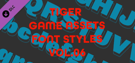 TIGER GAME ASSETS FONT STYLES VOL.06