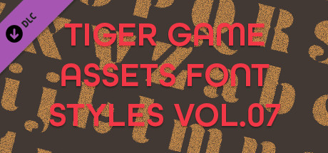 TIGER GAME ASSETS FONT STYLES VOL.07