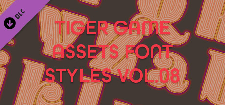 TIGER GAME ASSETS FONT STYLES VOL.08