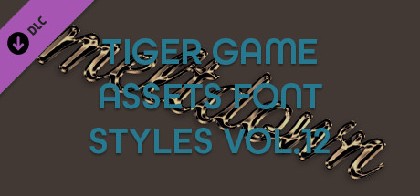 TIGER GAME ASSETS FONT STYLES VOL.12