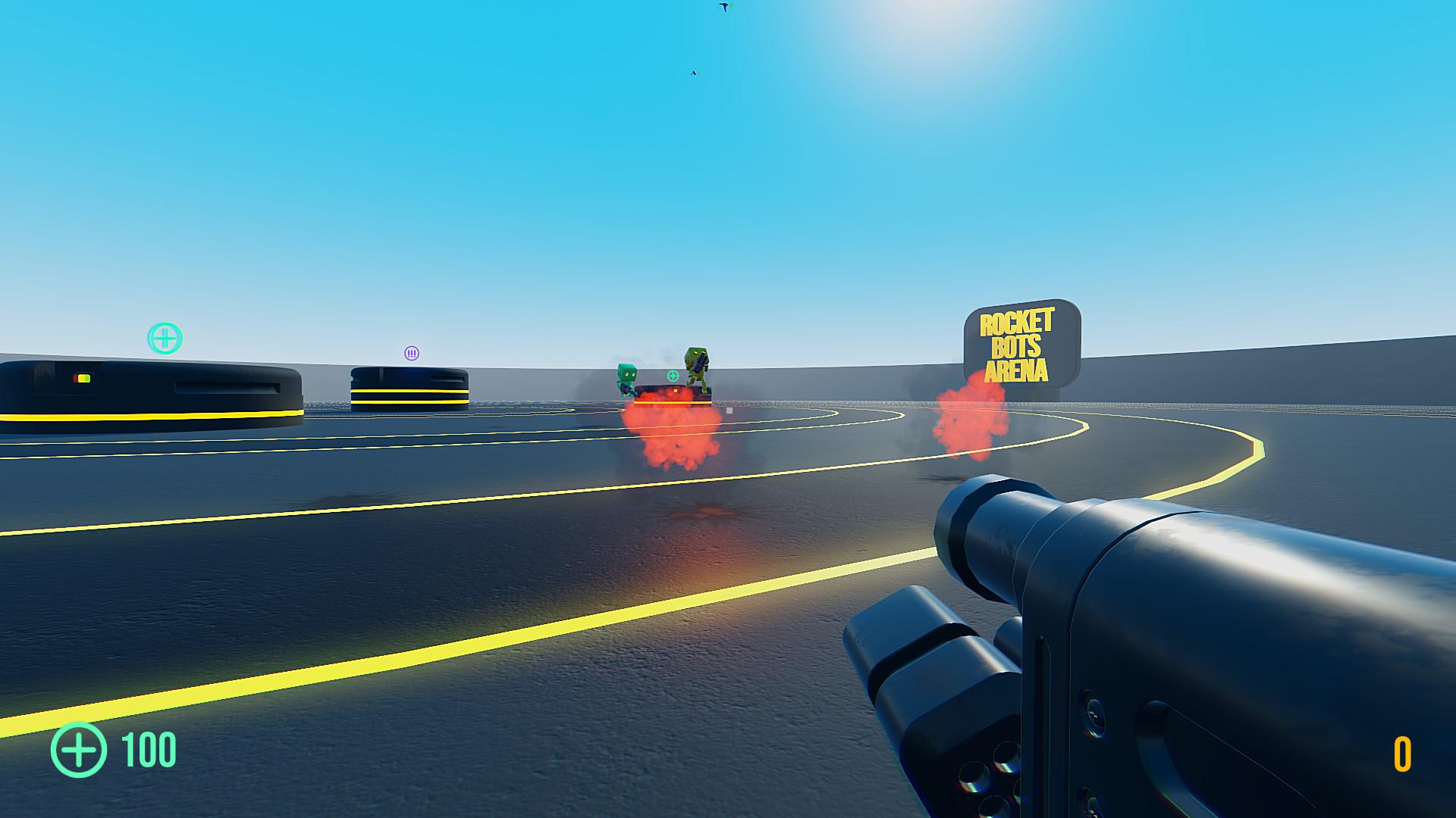 Rocket Bots screenshot