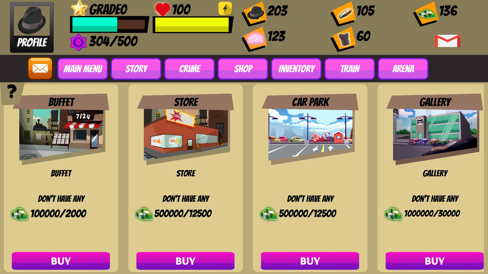 Mafia Gangster City screenshot