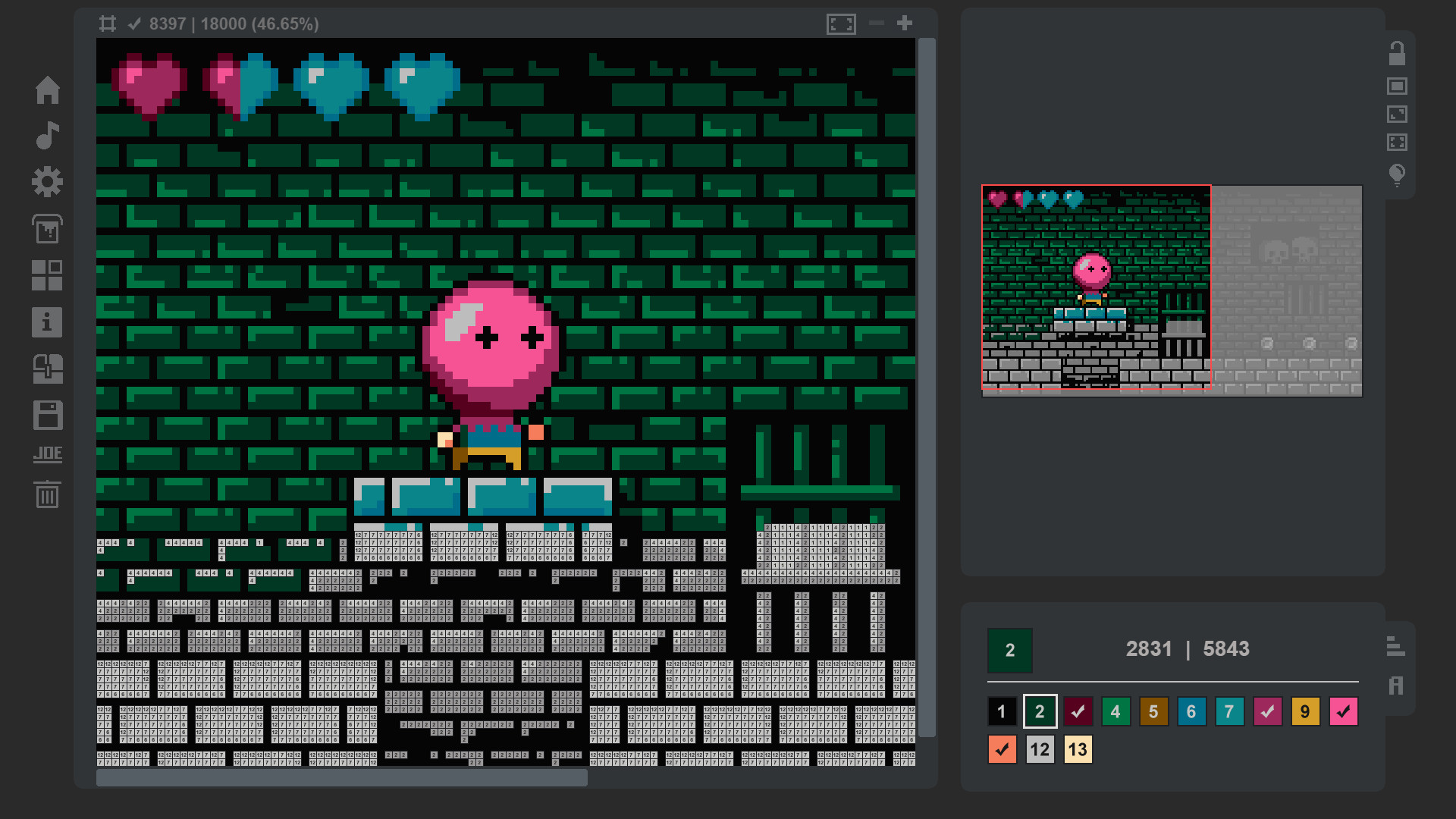 Coloring Game 3 – Video Game No. 1 screenshot