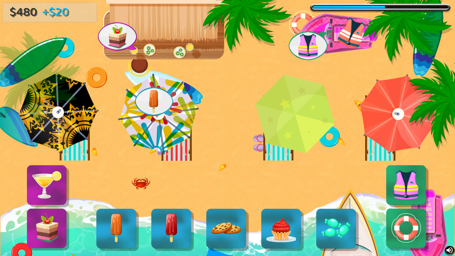 Beach Love Shop - Adult skins for locals screenshot