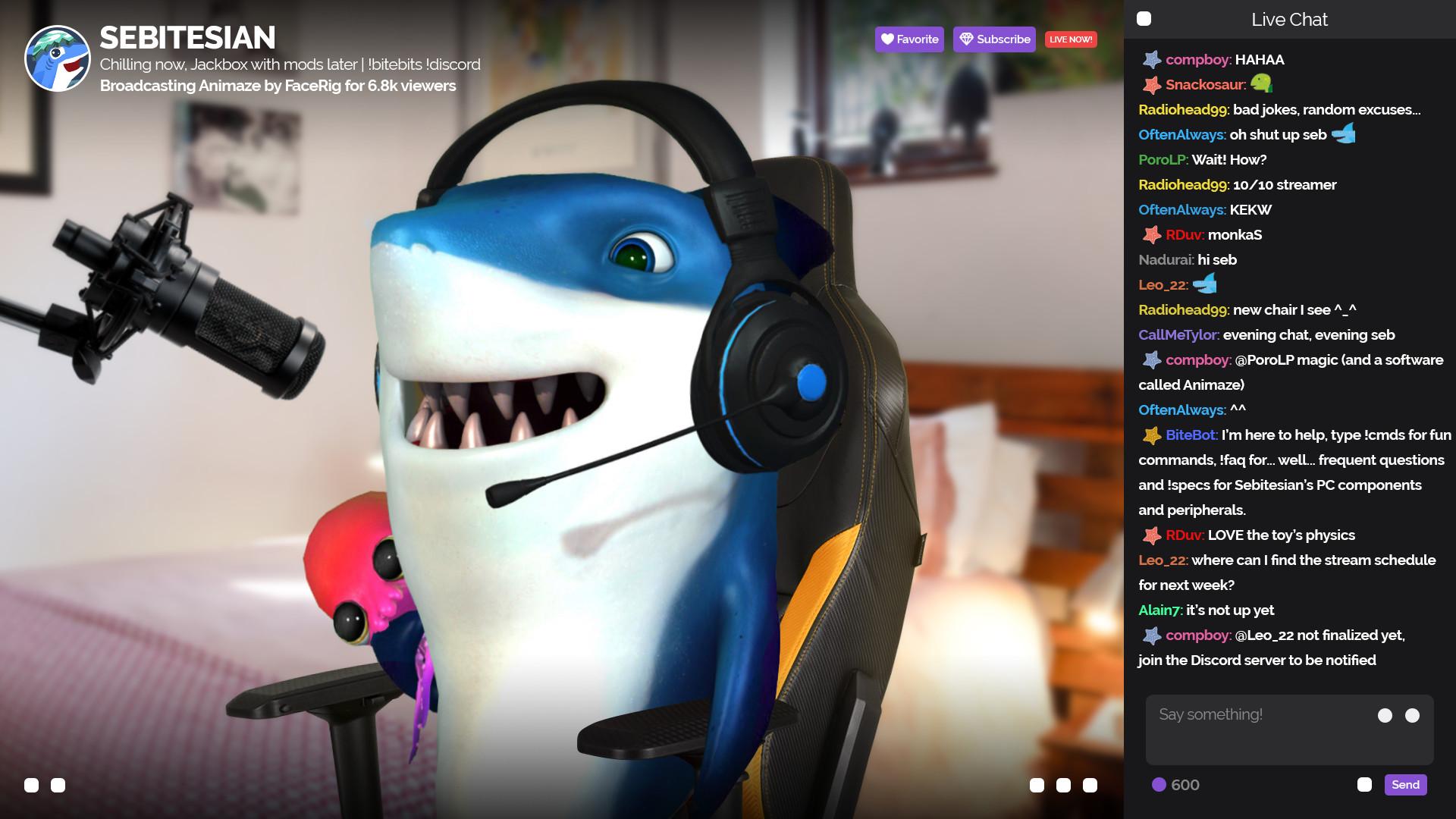 Animaze by FaceRig screenshot