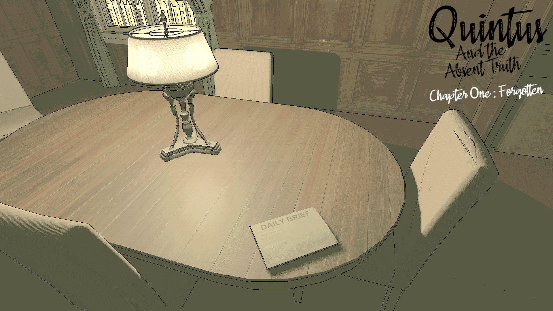 Quintus and the Absent Truth - Chapter One screenshot