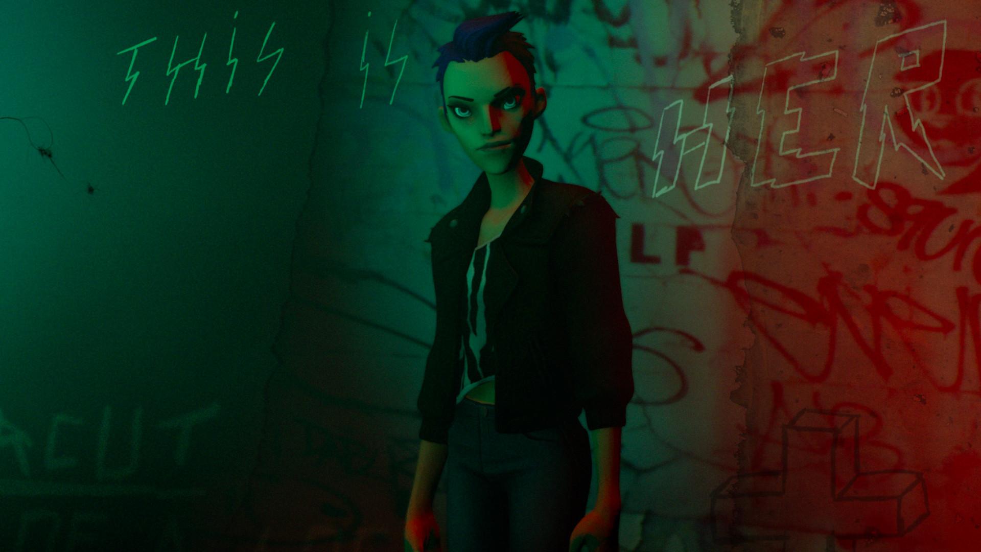 BATTLESCAR: Punk Was Invented By Girls screenshot