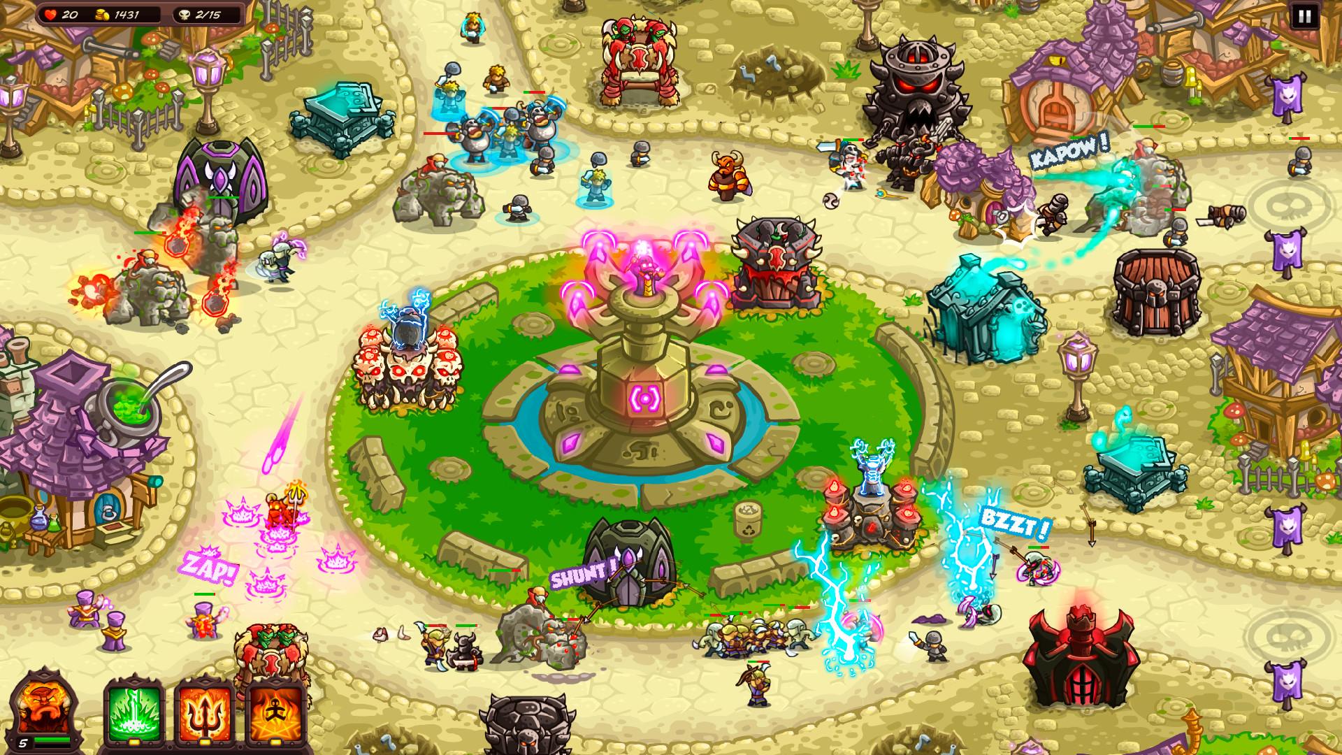 Kingdom Rush Vengeance - Tower Defense screenshot