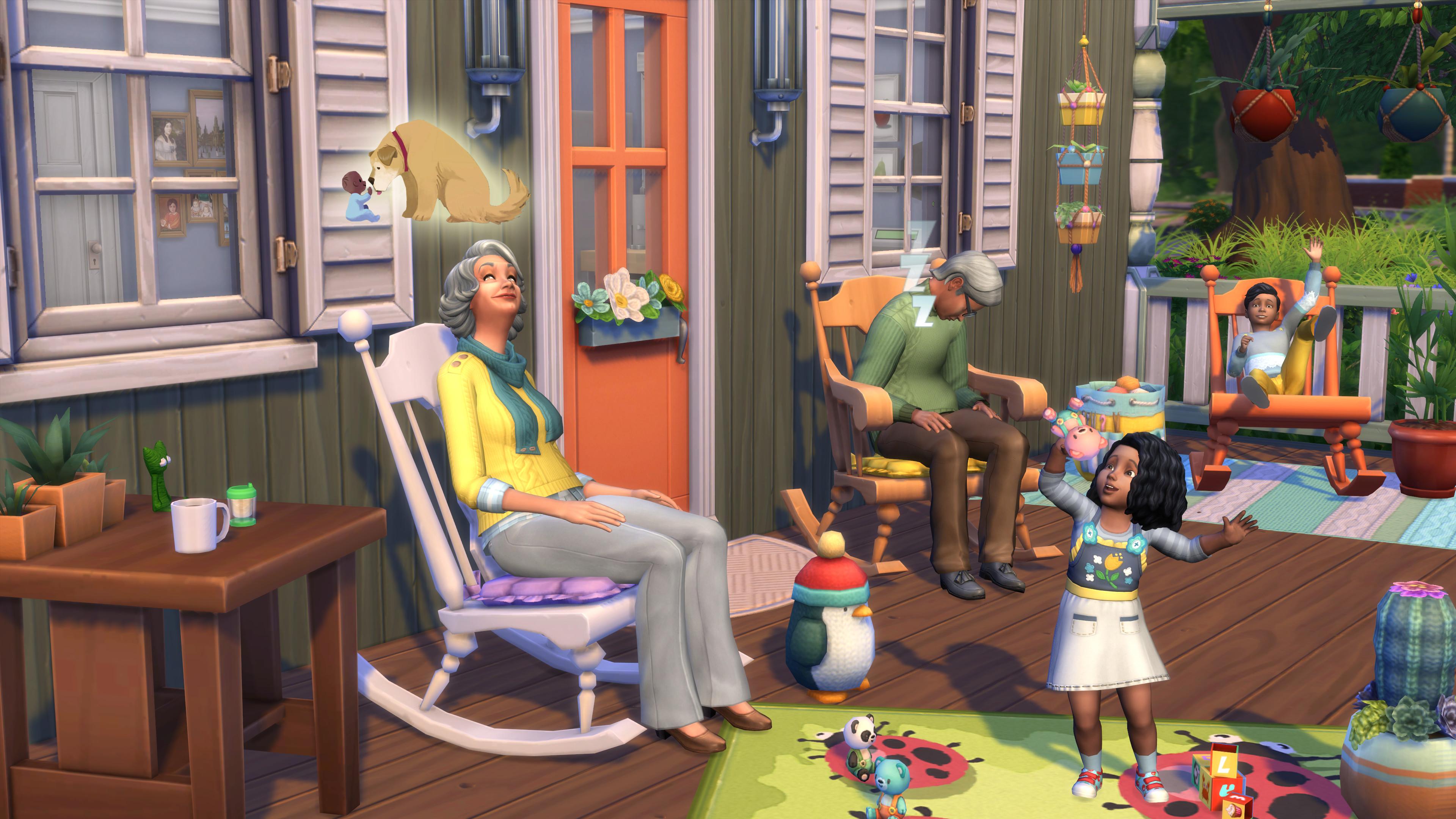 The Sims 4 Nifty Knitting Stuff Pack screenshot