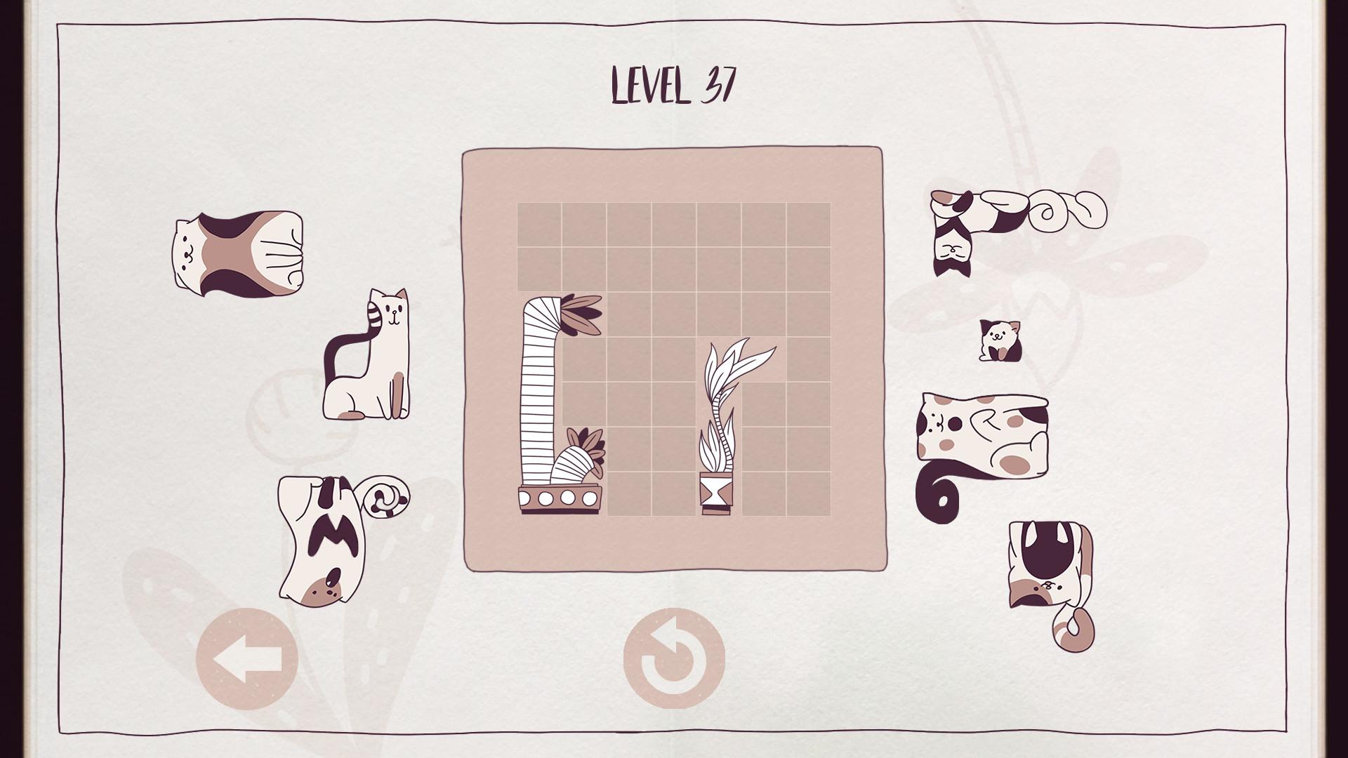 Cats Organized Neatly screenshot