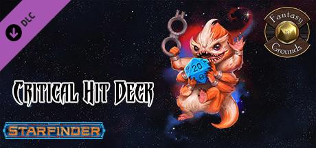 Fantasy Grounds - Starfinder RPG - Starfinder Critical Hit Deck