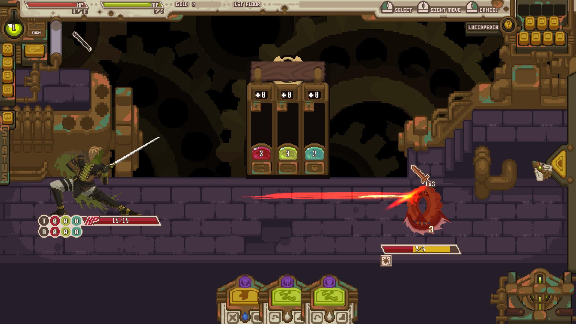 Lucid Steam screenshot