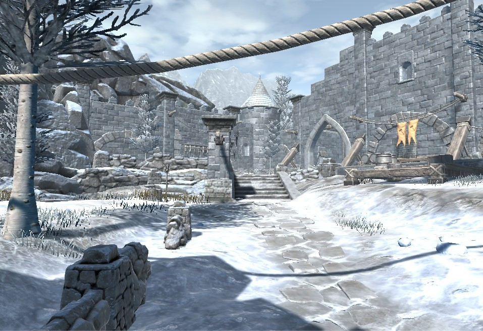 VR Time Machine Travelling in history: Medieval Castle, Fort, and Village Life in 1071-1453 Europe screenshot