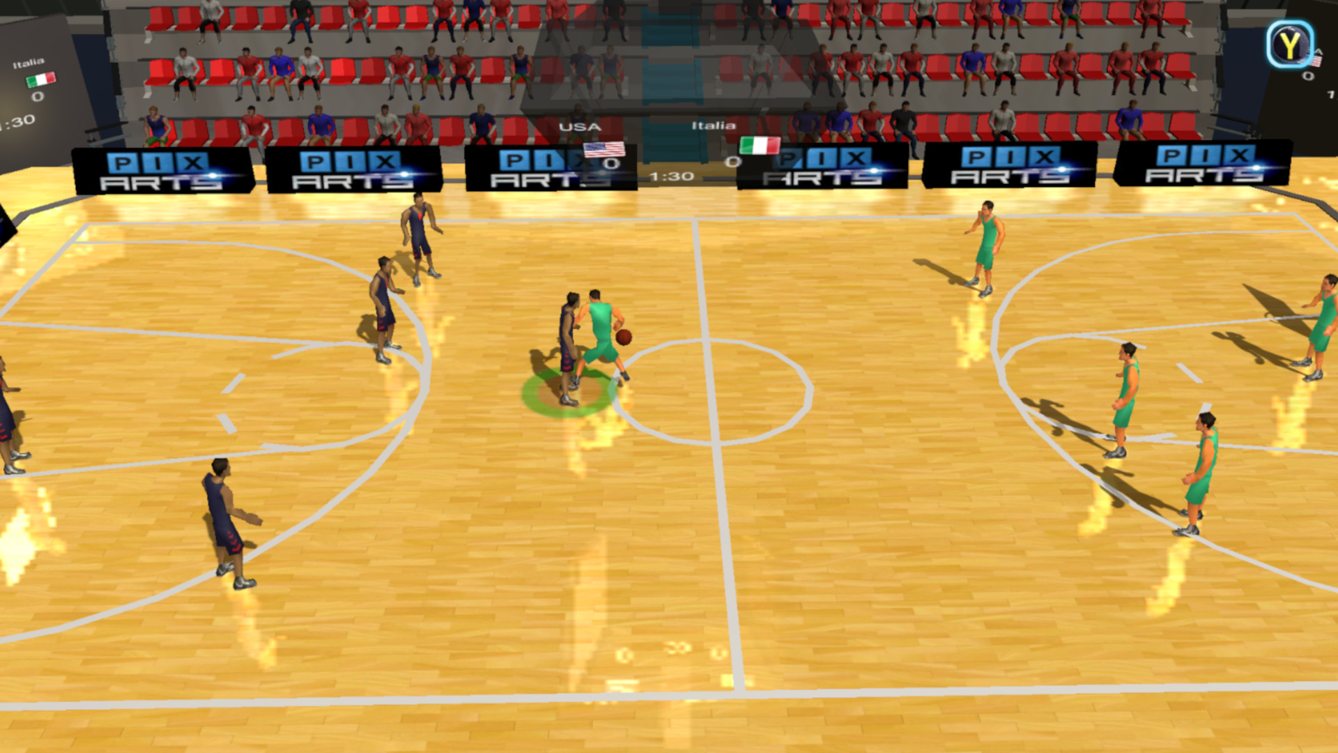 Olympic Basketball screenshot