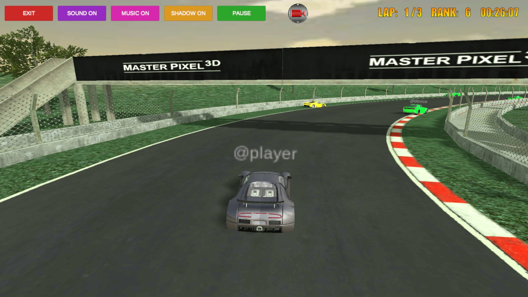 Grand Prix Racing On Line screenshot