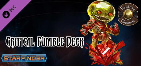 Fantasy Grounds - Starfinder RPG - Starfinder Critical Fumble Deck