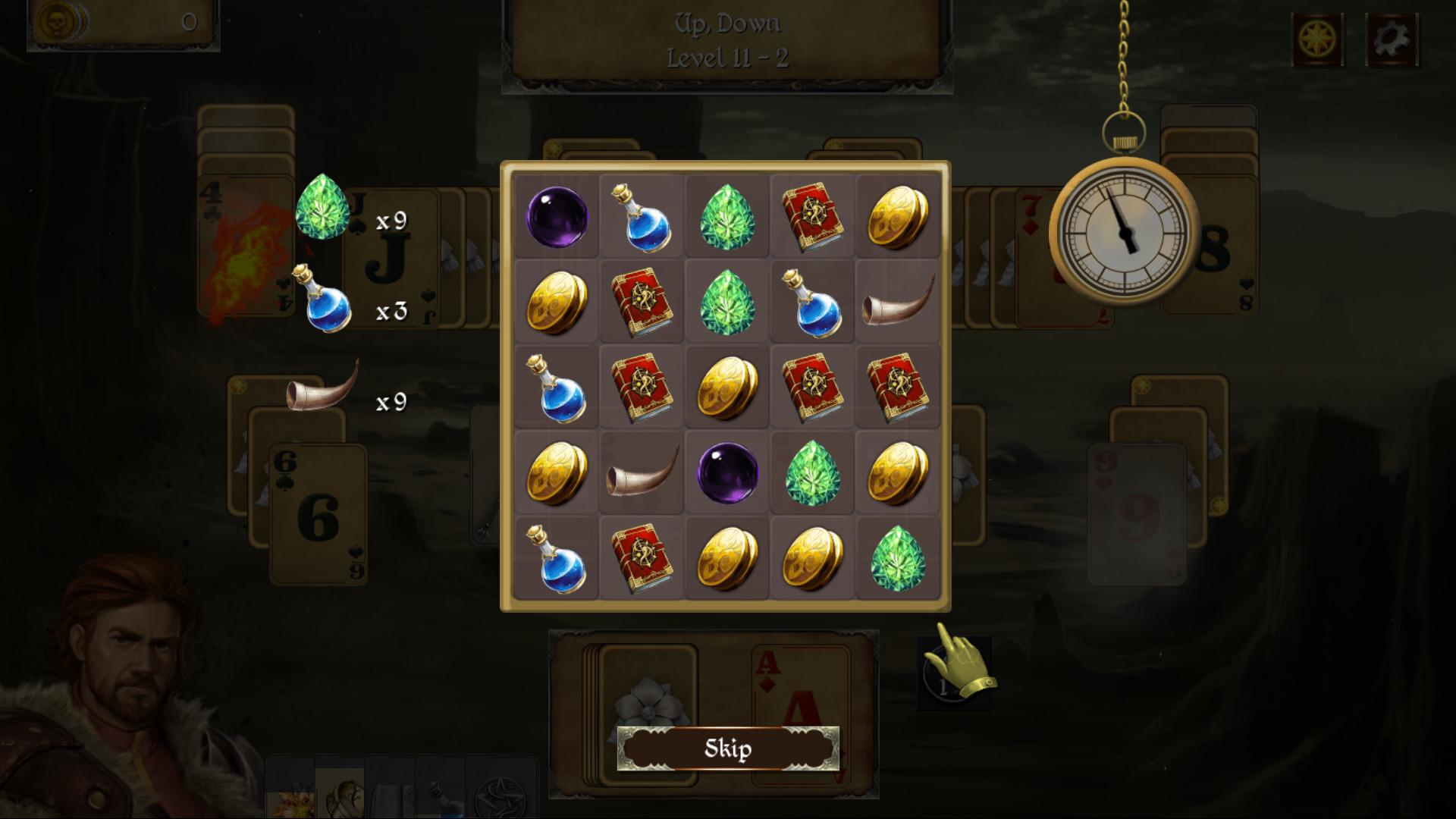 Legends of Solitaire: Diamond Relic screenshot