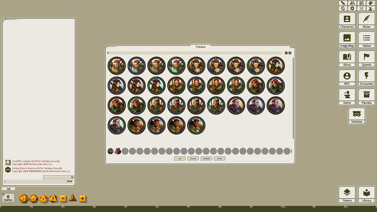 Fantasy Grounds - March of the Elves screenshot