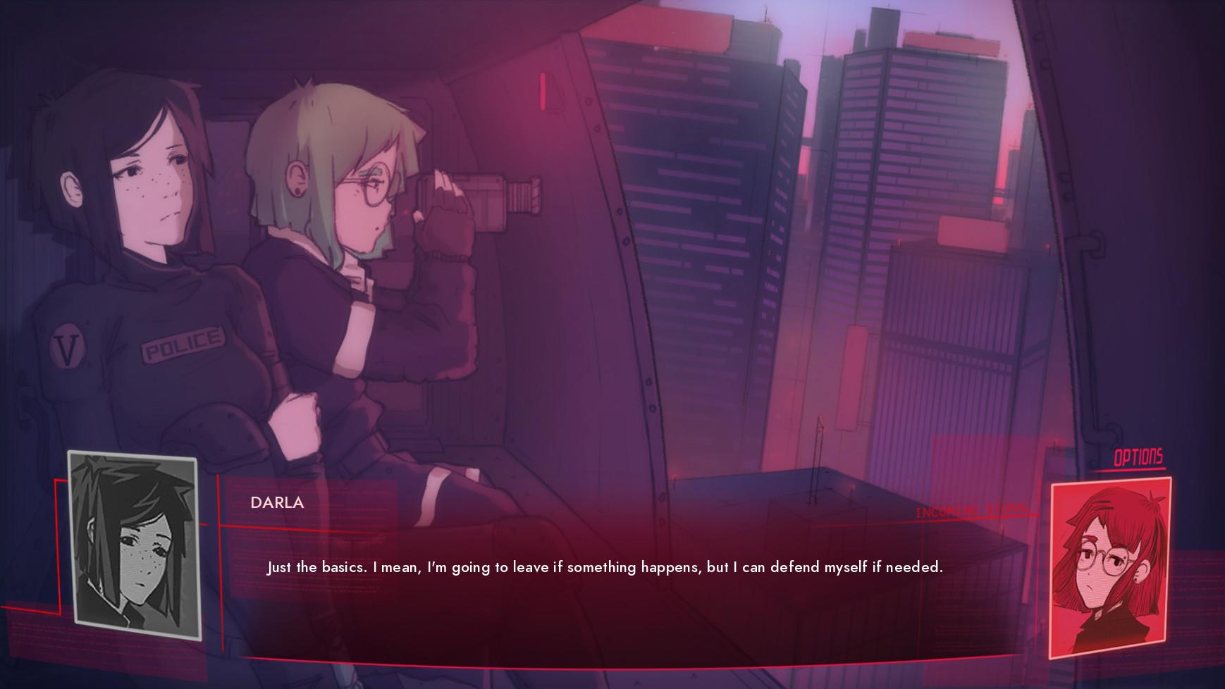 Synergia Soundtrack screenshot