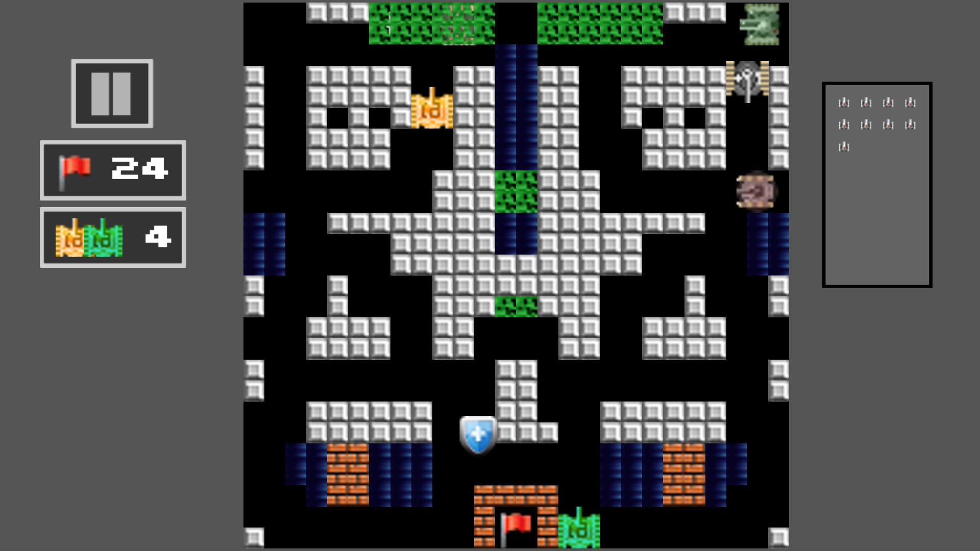Tank Shoot 2D - Battle to save City Flag screenshot
