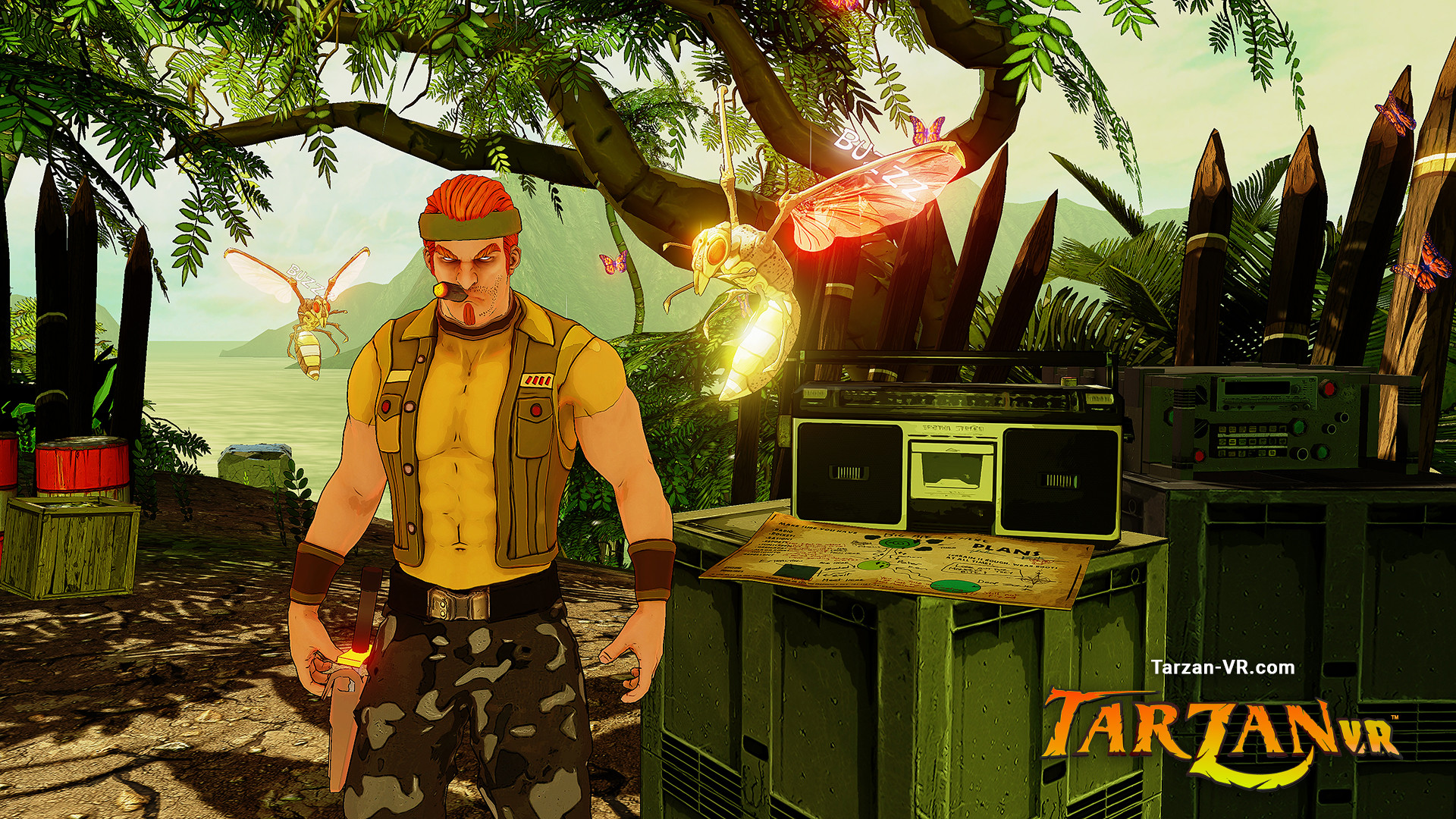 Tarzan VR,  Issue #2 - THE JAGGED EDGE screenshot