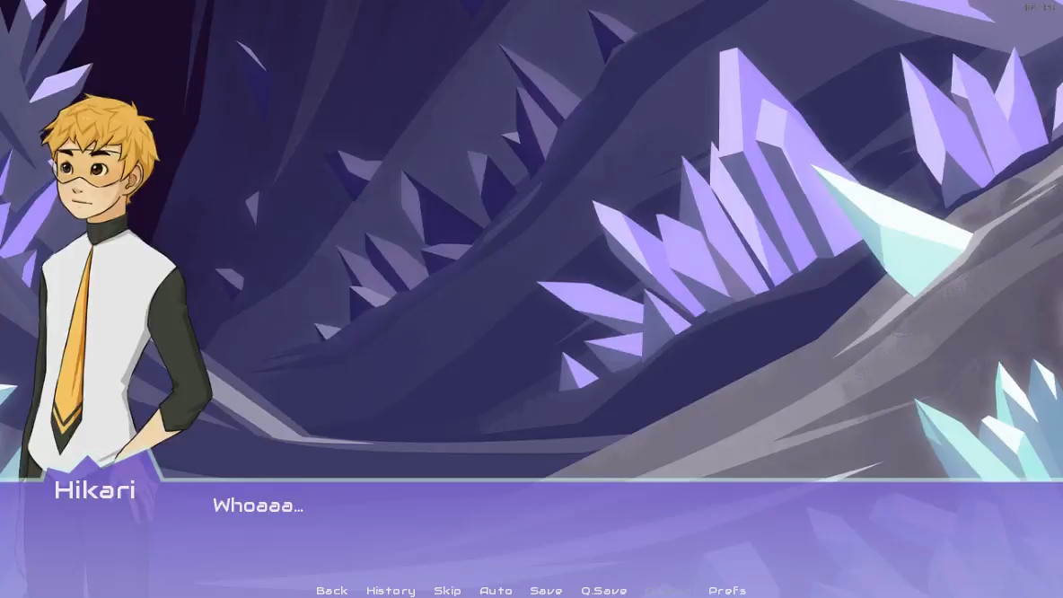 Adapted Adventures: Crystal Cave screenshot