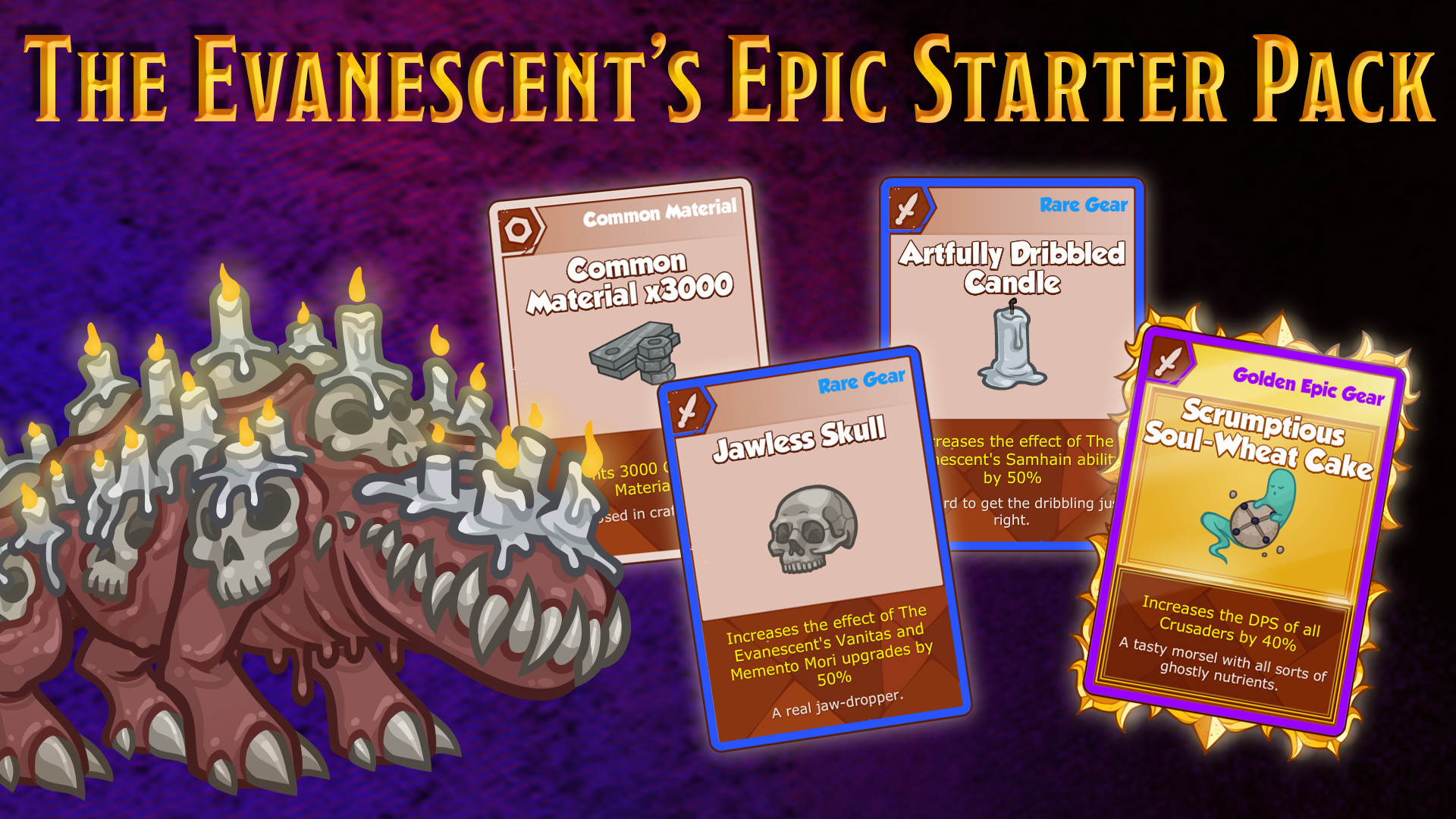 Crusaders of the Lost Idols - The Evanescent Starter Pack screenshot