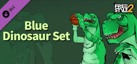 Freestyle2 - Blue Dinosaur Set