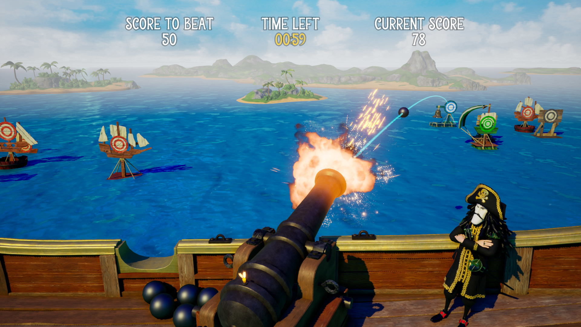 Captain Sabertooth and the Magic Diamond screenshot