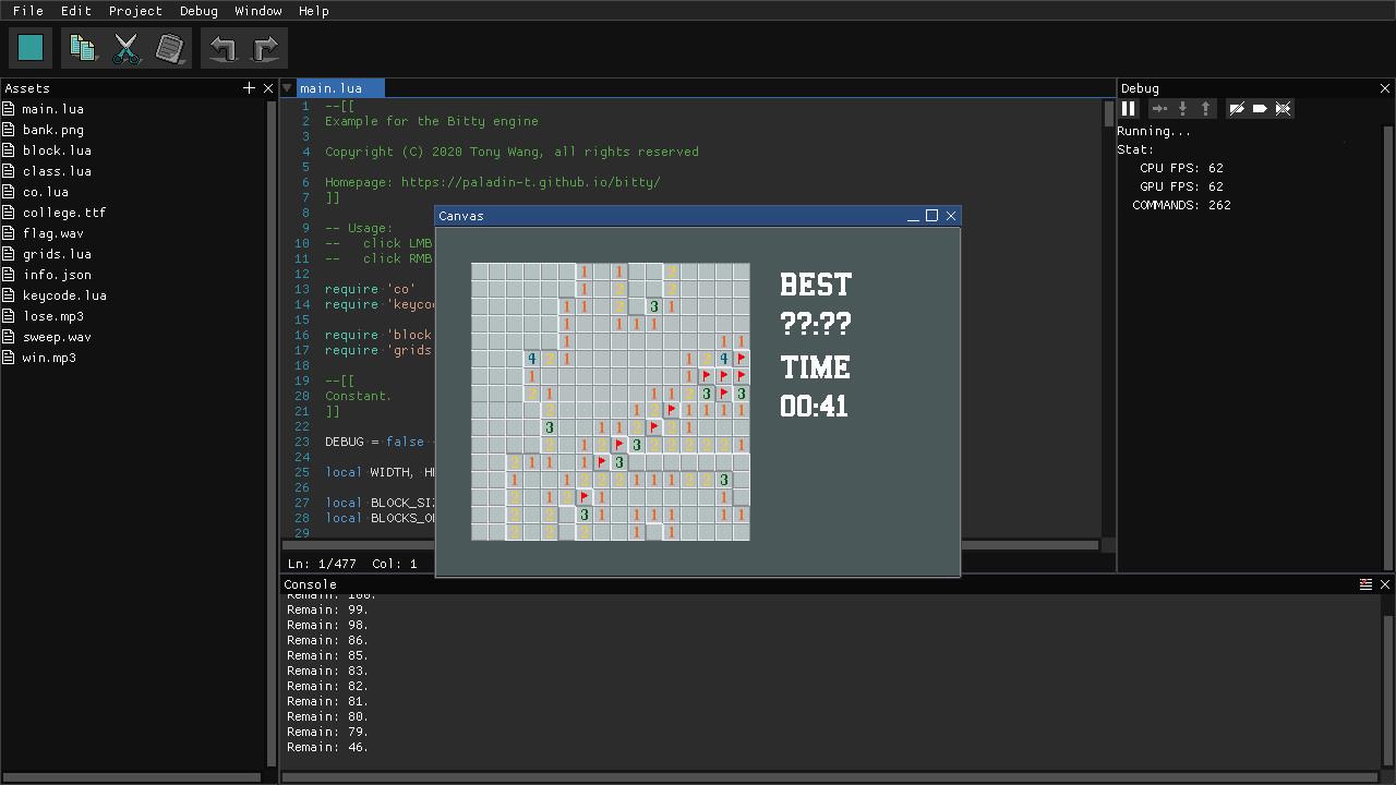 Bitty Engine screenshot