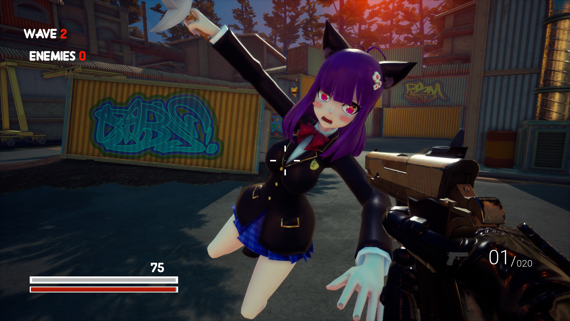 Anime Wave Simulator screenshot