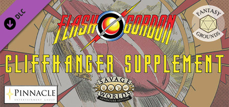 Fantasy Grounds - Flash Gordon Cliffhanger Supplement