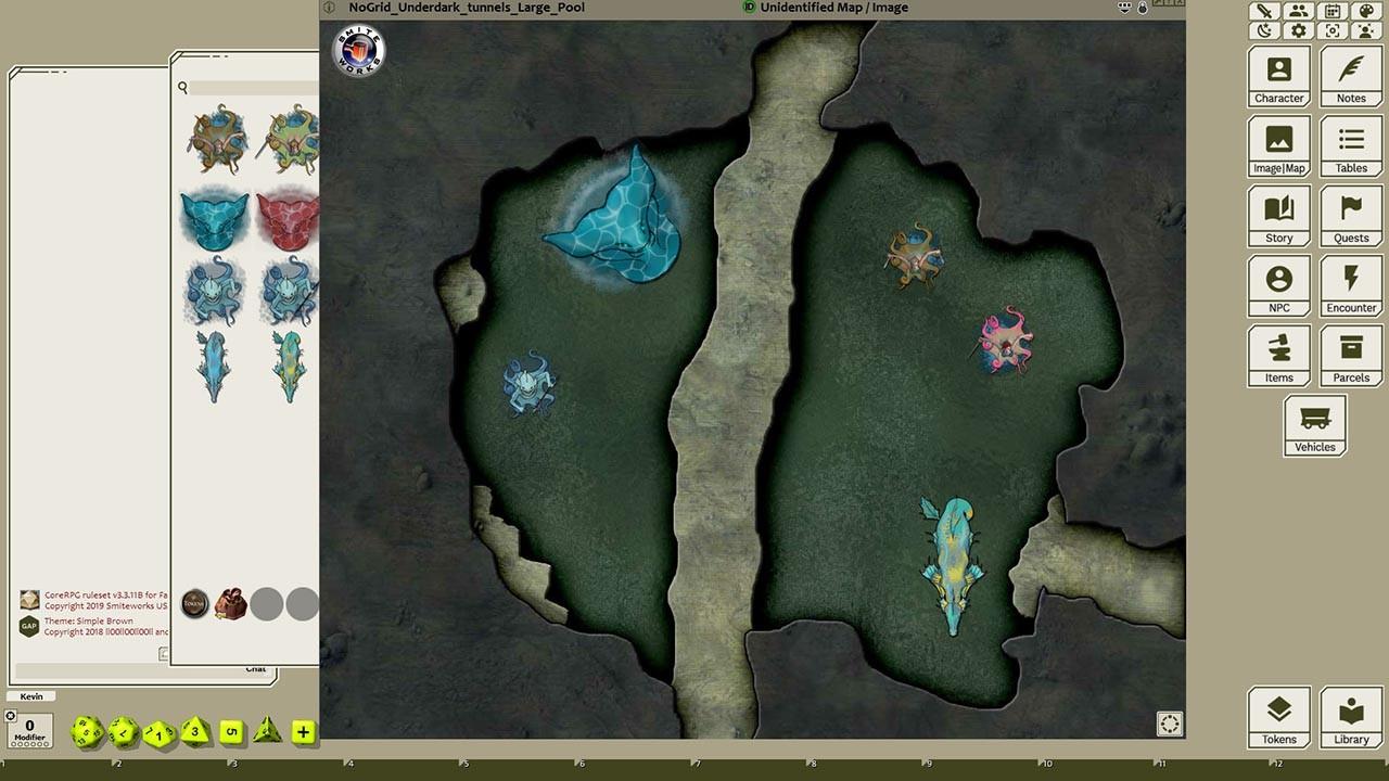 Fantasy Grounds - Aquatic Menace 1! screenshot