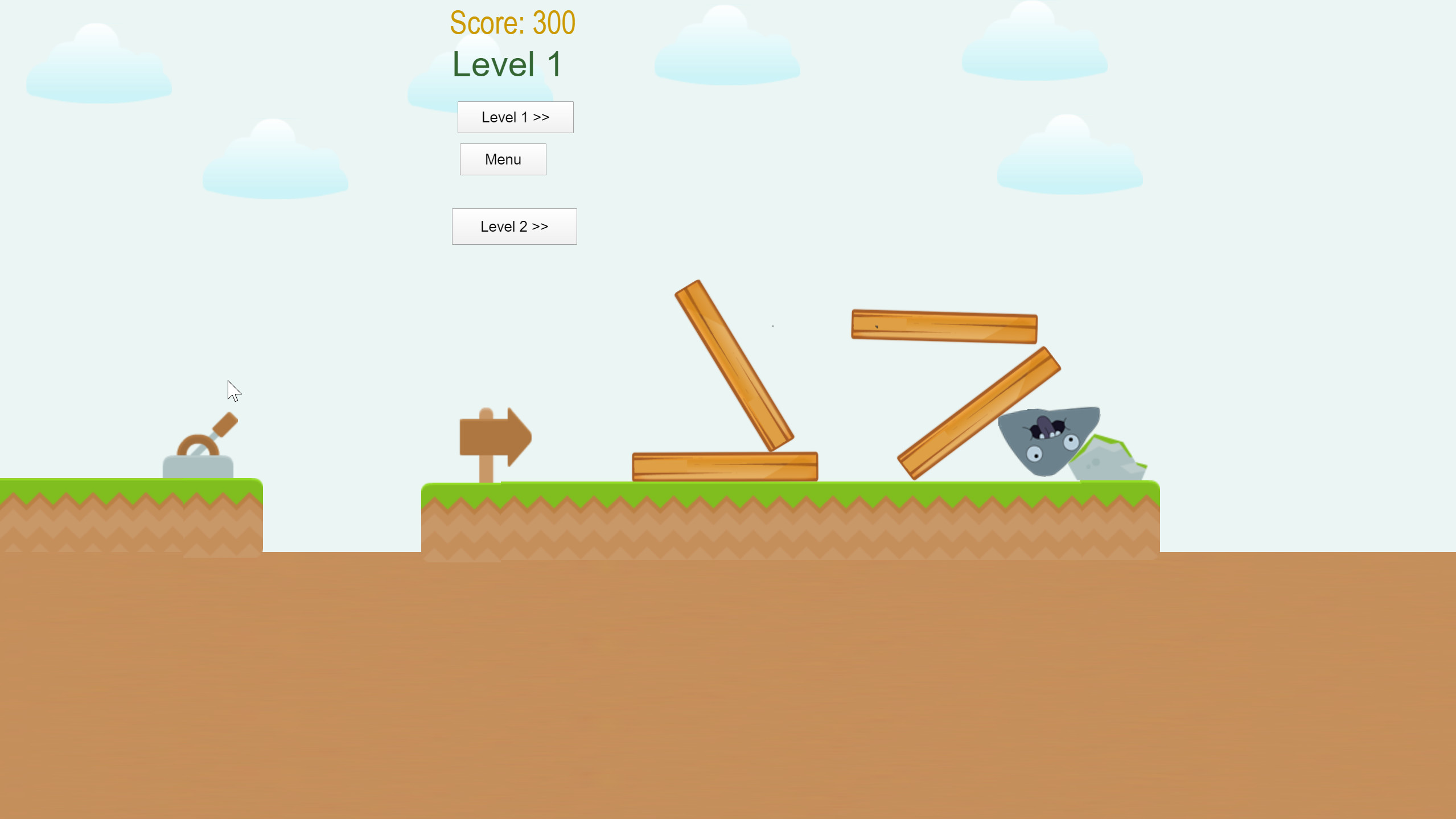 Angry Rock screenshot
