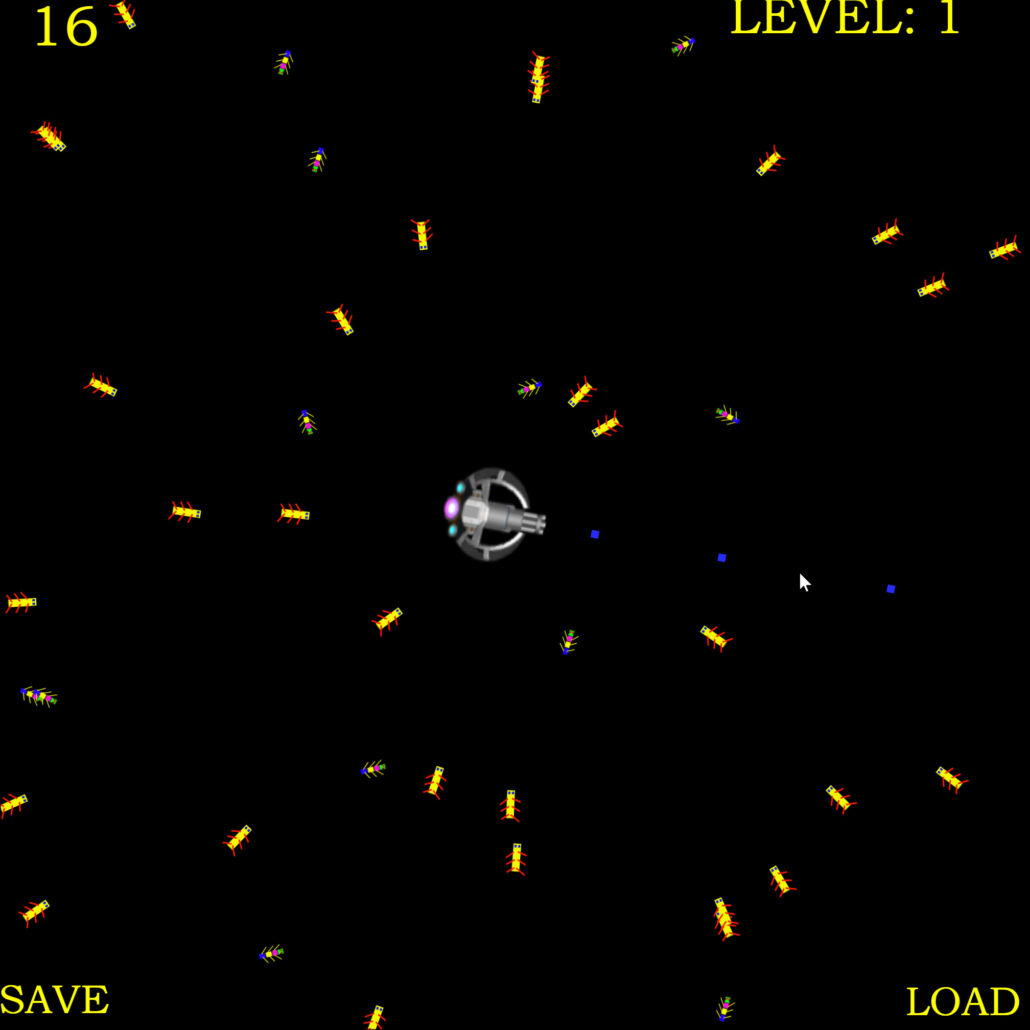 Turret Defense: Bug Invasion screenshot